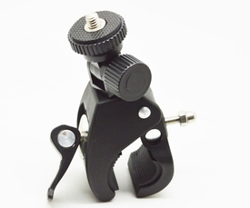"""BGP73: Quick Install Clamp Bicycle Handlebar Mount for camera (fits 0.75 ~ 1.75"""" dia)"""