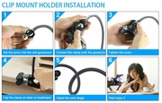 CPL-HOL: Universal Clamp Mount with holder for Smart Phone