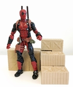 "FIG-BOX x 6: FIGLot Prop Box for 6"" Action Figures or 3.75"" G I Joe (6 Pack)"
