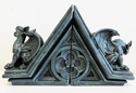 "FIG-GARGOYLE: FIGLot 1/12 scale Gargoyle Display Diorama Stand for 6"" Figures (2 Pack)"