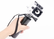 IT-SW-007: i.Trek Carbon Fiber Floating Hand Grip Mount for GoPro Hero HD 1 2 3 3+