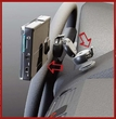 GTA-WM: Univeral Car Holder System for GPS, Phone, PDA, MP3 Player, Garmin Nuvi