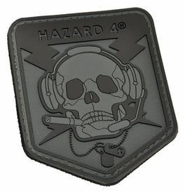 Hazard 4 Custom Special Operations Skull Rubber 3D Patch (Choose from 4 colors)