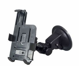 HI-IP4: Premium Low Vibration Windshield Mount with Bracket for iPhone 4/4S/5, HTC EVO 3D/Sensation XL/Titan/Amaze 4G