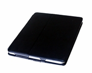 HR-IPAD: Leather Case with Built-in Stand and Headrest Strap for Apple iPad