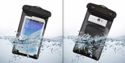 Extra Large Waterproof Case with Sports Armband and Lanyard for Samsung Galaxy S3 S4, Note 2 3, Nokia Lumia 920, LG G2 G3 HTC M7 M8 Smart Phone