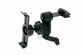 IG-A07+BKT300: Vent Mount w/ Metal Spring Clip for Garmin Nuvi 1200 1250 1260T 1300 1350 1350T 1370T 1390T (Suitable for horizontal & vertical AC Vents)