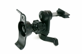 IG-A07+BKT40: Vent Mount w/ Metal Spring Clip for Garmin Nuvi 40 40LM (Suitable for horizontal & vertical AC Vents)