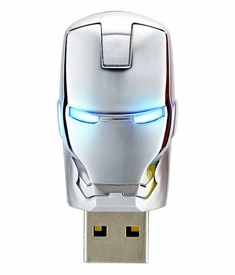 infoThink x Marvel Ironman 2 War Machine Mask 8GB USB Flash Drive