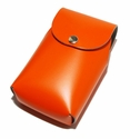 Leather Cell Phone Belt Case by SanLorenzo Design (Made in Italy)