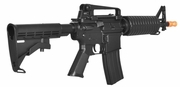 LT-01B: Lancer Tactical M4 M933 COMMANDO AEG METAL GEAR (COLOR: BLACK)