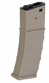 LT-101T-MAG: Lancer Tactical AirSoft FLASH MAGAZINE - 360 RD (COLOR: TAN)