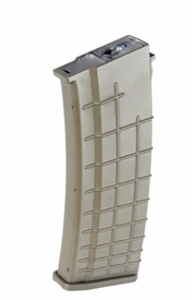 LT-11T-MAG: AirSoft High-Cap Magazine for Beta Project AK in Dark Earth