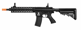"LT-12B: Lancer Tactical 10"" FREE FLOAT RAIL M4 AEG METAL GEAR (COLOR: BLACK)"