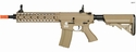 "LT-12T: Lancer Tactical 10"" FREE FLOAT RAIL M4 AEG METAL GEAR AIRSOFT (TAN)"