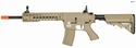 LT-12TK: Lancer Tactical M4 KEYMOD 10 INCH AEG METAL GEAR AIRSOFT (COLOR: TAN)