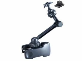 ME-CLP02S+ME-DC2: 11 inch long Universal clamp mount for compact camera, DV