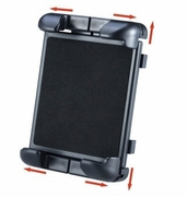 """ME-CLP04+ME-UTM2: 23 inch C-Clamp Mount with holder for Tablet up to 9.7"""" screen (Compatible with iPad, iPad Mini, Galaxy Tab, Kindle etc.)"""