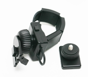 ME-DC1+ME-B01: Handlebar Mount w/ quick release for digital sport camera