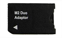 Memory Stick M2 Micro to Memory Stick Duo Adapter (Bulk Package)