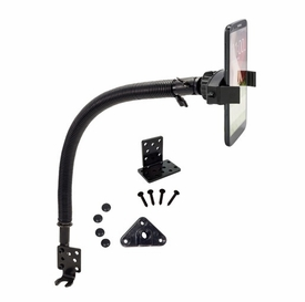 """MG288: Arkon Mobile Grip 2 - 15"""" Car Seat Rail Floor Mount for iPhone Android Phones"""