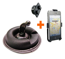 Mini Friction Mount for Apple iPhone, iPhone 3G/3GS