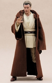 MY-R-BN: FIGLot Brown Jedi Fabric Robe for SHF, Hasbro Star Wars Figures (Sold Out)