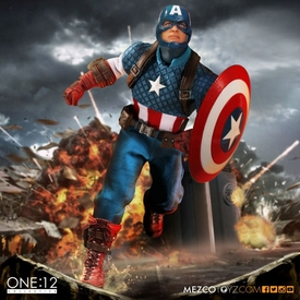 One:12 Collective Captain America by Mezco