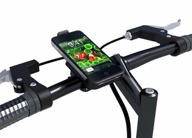 PH-IP4+PB-BKM: Handlebar mount with iPhone 4 Bracket