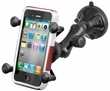 RAP-B-166-2-UN7U: RAM Composite Twist Lock Suction Cup Mount with Universal X-Grip� Cell Phone Holder