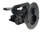 Swivel Tightening Vent Mount with Swivel-head Tightening Nut (Single T)