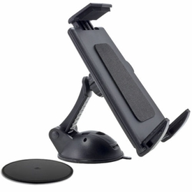 "TABPB078: Windshield Dashboard Gel Suction Mount for 9"" ~ 12"" Tablet, iPad"
