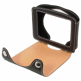 TT130CS: TomTom 125, 130, 130*S Custom Leather Case with Snap-on Cover