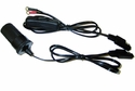 Universal Hardwire Cable with Lighter Socket and Power Switch for Motorcycles, ATVs, etc.