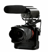 Vmic-R: Saramonic Vmic Recorder condenser microphone with integrated flash recording for DSLR Camera and Camcorder