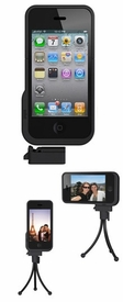 Xshot iPhone 4 case with detachable tripod adapter and bonus mini tripod