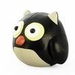 Zuny Cicci Owl Animal Bookend - Black