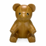 Zuny Classic Bear Animal Bookend - Tan