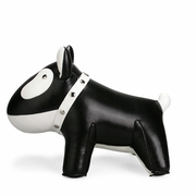 Zuny Classic Doggy Animal Bookend - Black