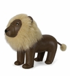Zuny Classic Lion Animal Bookend - Brown