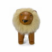 Zuny Classic Lion Animal Bookend - Tan