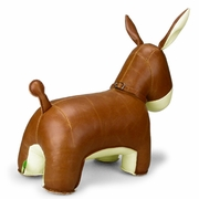 Zuny Donkey ( Yale ) Animal Bookend - Tan