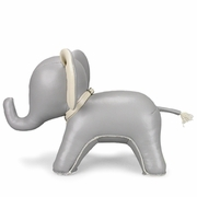 Zuny Elephant ( Abby ) Animal Bookend - Gray
