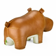 Zuny  Hippo (Budy)  Animal Bookend - Tan