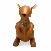 Zuny  Kangaroo (Kurio) Animal Bookend - Tan