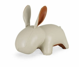 Zuny Rabbit ( Lala ) Animal Bookend - Wheat