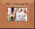 40th Anniversary Frame for 1978 or 1979