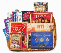 40th Anniversary or 40th Birthday Gift Basket