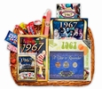 50th Anniversary Gift Basket for 1967 or 1968