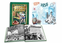 60th Anniversary Gift Idea - Book & Music for 1956